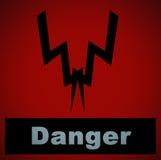 niebezpieczeństwo Fotografia Stock