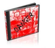 niebezpieczeństwo cd Obrazy Royalty Free