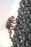 Niebezpieczeństwo job-1 Zdjęcie Stock
