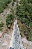Niebezpieczeństwo most Fotografia Stock