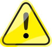 Niebezpieczeństwo ruchu drogowego znak Zdjęcie Royalty Free