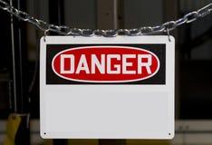 niebezpieczeństwo znak Obrazy Royalty Free