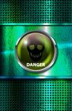 Niebezpieczeństwo znak ilustracji