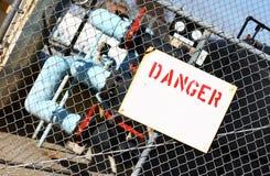 niebezpieczeństwo znak zdjęcie stock