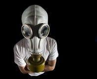 niebezpieczeństwo maska gazowa Obraz Stock