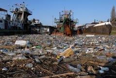 niebezpieczna śmieci toksyczne obrazy stock