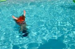 Niebezpieczne wody zdjęcie royalty free