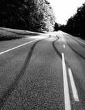 Niebezpieczny jeżdżenia i autostrady bezpieczeństwo -2 Zdjęcie Stock