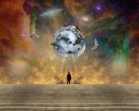 Niebiańska planeta ilustracji