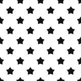 Niebiański gwiazdowy wzór, prosty styl royalty ilustracja