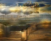 Niebiański pałac Zdjęcia Royalty Free