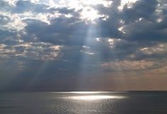 niebiańskie światło Obraz Royalty Free