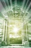 Niebiański archway Zdjęcia Stock
