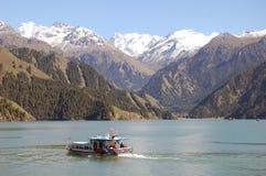 niebiański jeziorny tianchi Obraz Royalty Free