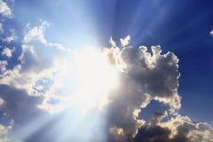 niebiański niebo Fotografia Royalty Free