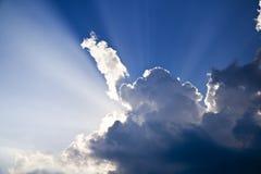 niebiański niebo Obraz Royalty Free