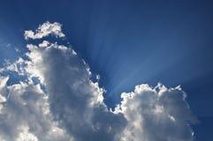 niebiańskie chmury Obrazy Royalty Free