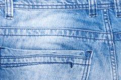 Niebiescy dżinsy kieszeń Fotografia Stock