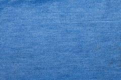 Niebiescy dżinsy tło Fotografia Stock