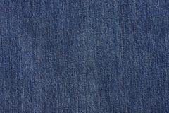 niebiescy dżinsy tekstura Fotografia Stock