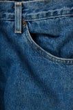 niebiescy dżinsy Obrazy Stock