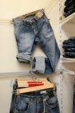 niebiescy dżinsy Fotografia Stock