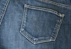 Niebiescy dżinsy Zdjęcie Stock