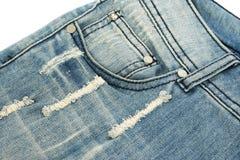 Niebiescy dżinsy Zdjęcie Royalty Free
