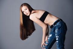 Niebiescy dżinsy dla dziewczyn