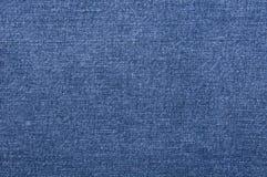 niebiescy dżinsy tekstura Obrazy Royalty Free