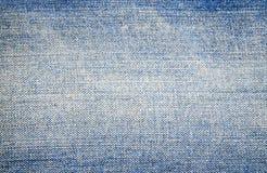 niebiescy dżinsy tekstura Fotografia Royalty Free