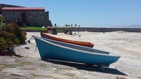 niebieska łódź Obrazy Royalty Free