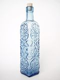 niebieska 2 butelkę Zdjęcia Stock