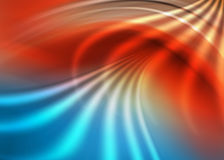 niebieska abstrakcyjna czerwone. Fotografia Royalty Free