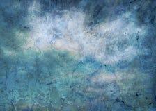 niebieska abstrakcyjna konsystencja niebieska tła Porysowany tło _ obraz stock