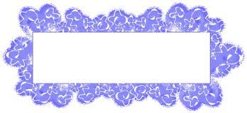 niebieska abstrakcyjna logo strony sieci royalty ilustracja
