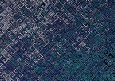 niebieska abstrakcyjne Obraz Stock