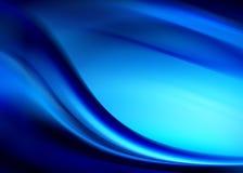 niebieska abstrakcyjne Obrazy Royalty Free