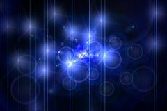 niebieska abstrakcyjne Zdjęcie Royalty Free