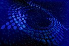 niebieska abstrakcyjne Fotografia Stock