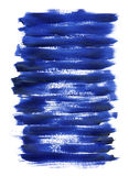 niebieska akrylowa konsystencja Obraz Royalty Free