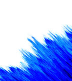 niebieska akwarela fotografia stock