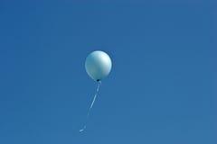 niebieska balonowy Obraz Stock