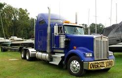 niebieska ciężarówka Fotografia Royalty Free