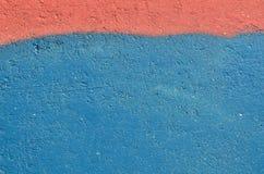 niebieska czerwone tło Zdjęcie Stock