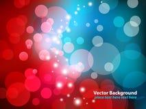 niebieska czerwony Obraz Royalty Free