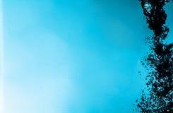 niebieska czystej wody obraz royalty free