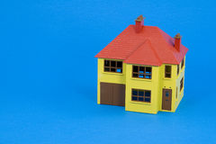 niebieska domu wersja projektu Obrazy Royalty Free