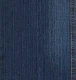 niebieska drelichowa ta marka jeansów konsystencja Obraz Stock