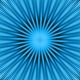 niebieska eksplozja Fotografia Royalty Free